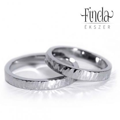 Aura nemesacél karikagyűrű