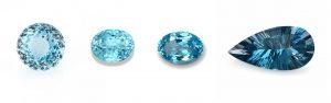 kék topáz színárnyalatok