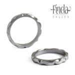 Mandala nemesacél karikagyűrű