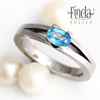 Classik bold nemesacél jegygyűrű