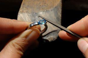 Nemesacél gyűrű készítés