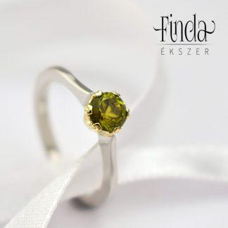 Turmalin d'Or szoliter gyűrű